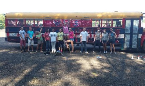Art Students Contribute To Speedbowl Back To School Bash