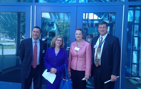 Commissioner of Education Visits Waterford High School