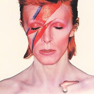 Ziggy Stardust, one Bowie's most iconic persona's, came from Bowie's fifth studio album.