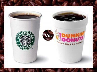 Starbucks vs. Dunkin