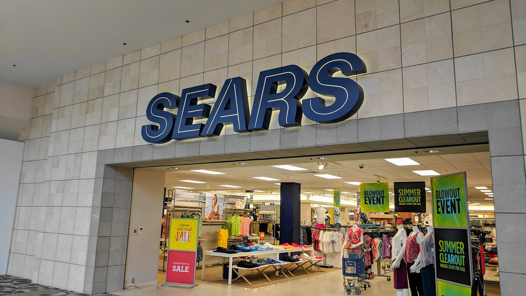 Sears before is closed