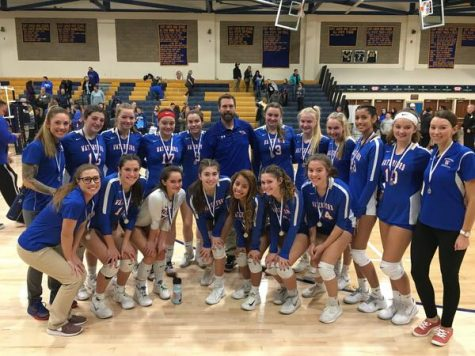 Waterford Volleyball Takes Second in the Class M State Tournament