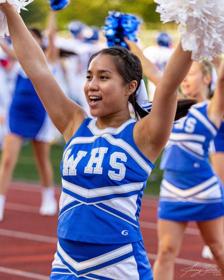 Sabrina Chhorn, Cheerleading