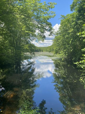 Clark Pond at the Oswegatchie Hills Nature Preserve